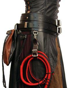 "4"" Ladies Warrior Belt Elite, by Ravenswood Leather"