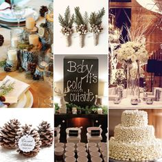 Baby It's Cold Outside | Wedding Inspiration | Bride Bubble - the ultimate wedding & style blog | http://www.bridebubble.co.uk/baby-its-cold-outside-wedding-inspiration/