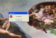 Quand Windows et les médias sociaux s'incrustent sur les peintures les plus célèbres