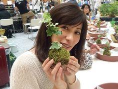 コケ玉の作り方|中田有紀オフィシャルブログ 『AKI-BEYA』Powered by Ameba
