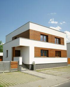 Exterior House Siding, Facade House, Concept Architecture, Architecture Design, Exterior Color Combinations, Wooden Facade, House Elevation, Exterior Design, Future House