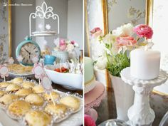 details for this shabby chic tea party
