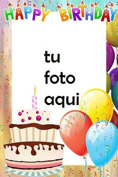 Happt Birthday, Birthday Photo Frame, Happy Birthday Frame, Happy Birthday Cake Images, Birthday Frames, Happy Birthday Messages, Birthday Wishes, Happy Birthday Best Friend, Birthdays