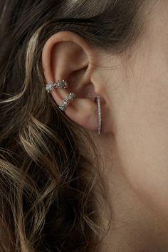 Rue Gembon Fynn Silver Hoop Earrings