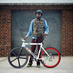 Avi and his Leader #flickr #fixie #hipster