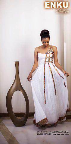 Enkutatash Kibret, better known as Enku, is an upcoming Ethiopian designer. Soft, sensuous and feminine, the designer talks to Ethiopia Observer about her enduring love affair with couture. Enku ru…