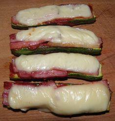 Cuketa se slaninou a sýrem