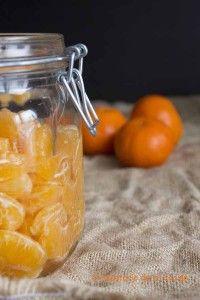 Mandarinas en almibar | El recetario de mi cocina