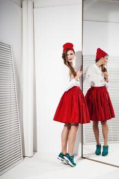 50s style Tafeta Skirt 368zł / 106$ 100% Silk