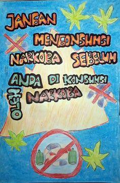 Cantik Contoh Gambar Poster Anti Narkoba Koleksi Poster