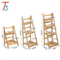 Garden Shelves, Plant Shelves, House Plants Decor, Plant Decor, Diy Furniture Plans, Pallet Furniture, Diy Ladder, Plant Ladder, Diy Plant Stand