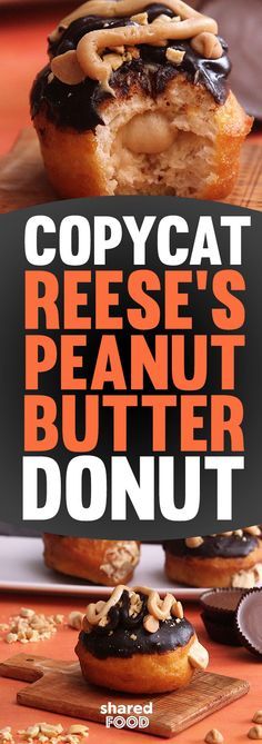 Krispy Kreme's Reese's Peanut Butter Donut is only available for a limited time, but what if we told you that a more delicious, homemade version could be made in your own kitchen? That's right, this Copycat Reese's Peanut Butter Donut is the ultimate treat for chocolate lovers, and makes a whole batch that you can share with your family and friends! Why wait - these donuts are so easy to make with refrigerated biscuit dough and homemade cream filling.