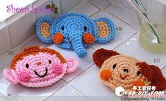 Bichinhos em Crochê -  /   Doggies Crochet -
