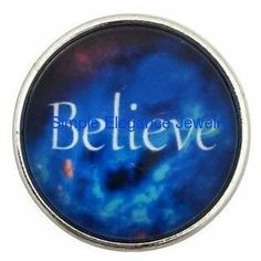 Believe Snap 20mm for Snap Jewelry