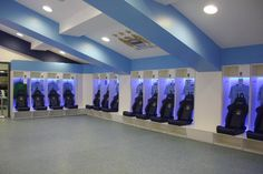 Manchester City dressing room