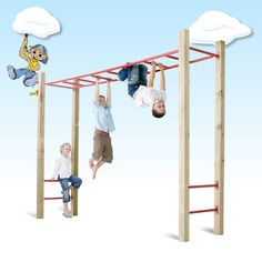 Monkey Bar Kit - $500 - http://www.awesomeplaygrounds.com.