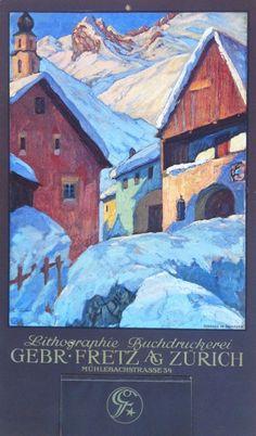 Kalender Gebr. Fretz AG, Zürich – 1922