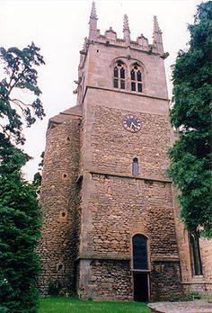 All Saints Church Hough on the Hill boasts an Anglo-Saxon base. What can be seen from that time is a semi-circular stair projection some windows and part of the Nave. There was a 12th century Augustinian priory  that stood close by but nothing remains.
