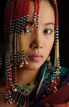 Gaddang tribe woman of Luzon at the Sinulog Festival Cebu  2
