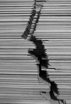 Paper under the knife - Pedamentina di San Martino, Naples, Italy #conceptual #model #architecture #naples #italy #maquette