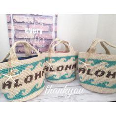 * * order * * aloha波柄♡♡ * * せっかくなので並べちゃいましたーー♡♡ * * #ハンドメイド#ハンドメイドバッグ#ハンドメイドアクセサリー#麻バッグ#波柄#アロハ#ハワイ#スターフィッシュ#湘南#ロンハーマン#ベイフロー#ママファッション#写真#order#handmade#aloha#hawaii#insta_photo#crochet#knit#love#kurashiru#outfit #ootd#beach#bag