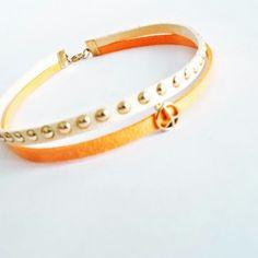 Choker Chokers, Bracelets, Leather, Jewelry, Bangles, Jewlery, Jewels, Bracelet, Jewerly