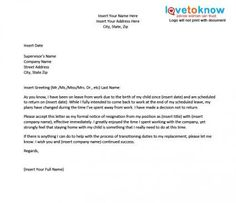 Letters Of Resignation Samples Career Change Resignation Letter Template  Davao  Pinterest .