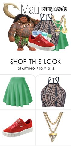 A fashion look from December 2016 featuring crop tops, flare skirt and puma sneakers. Browse and shop related looks. Disney Character Outfits, Cute Disney Outfits, Disney Dress Up, Disney Themed Outfits, Character Inspired Outfits, Disney Bound Outfits, Cute Outfits, Disney Clothes, Pretty Outfits