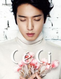 Embraceable Jung Yonghwa Covers CéCi's February 2015 Edition | Couch Kimchi