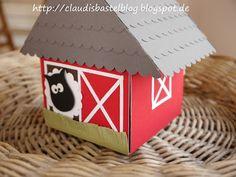 Explosionsbox 'Bauernhof/Farm' meets Hochzeit ;-)