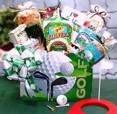 Auction basket idea for your PTO or PTA event. Any golfers in your community?