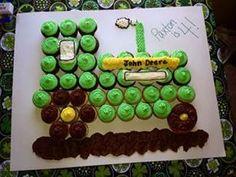 cupcake cake tractor - Bing Images