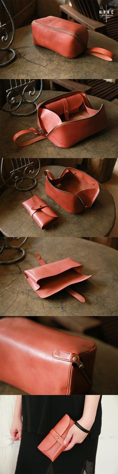 Toilerery Bag from hykc leatherware