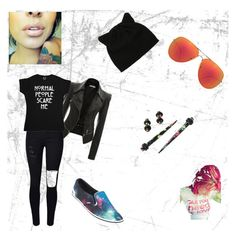 """""""Unbenannt #15"""" by oosammyoo on Polyvore featuring Mode, Quay, Vans und WithChic"""