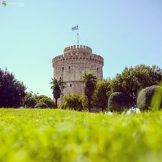 Greek Beauty, Thessaloniki, Macedonia, Pisa, Monument Valley, Greece, Tower, Building, Places