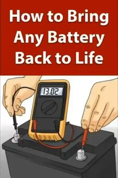 repair diy DIY Battery Reconditioning - Restore An - repair Cordless Drill Batteries, Ryobi Battery, Battery Recycling, Diy Home Repair, Diy Car, Useful Life Hacks, Diy Electronics, Alternative Energy, Just In Case