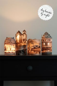 DIY  ::   Photo Lamps  ( link ::  http://www.shelterness.com/diy-photo-lamps-that-preserves-memories-and-light-up-your-home/ .)