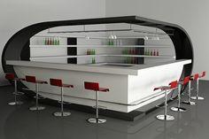 white-stain-wall-white-stain-bar-cabinet-white-stain-wooden-floating-shelf-chrome-bar-stool-gray-ceramics-floor-tile-red-leather-bar-stool-seat-bar-design-interior-bar-design-ideas-936x624.jpg (936×624)