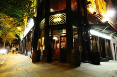 The Porterhouse/Temple Bar. There's also a food market at the Temple Bar. And it's a popular site for local music.