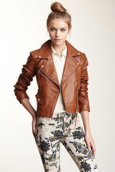 Loren Moto Leather Jacket