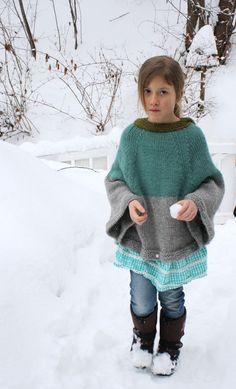 cape knitting pattern.