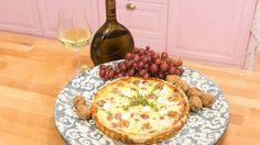 "Jochens ""Winzer-Tarte"" - Das große Backen - Sat.1 Quiches, Food Inspiration, Camembert Cheese, Dairy, Pizza, Eggs, Healthy Recipes, Breakfast, Sweet"