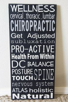 All things Chiropractic!