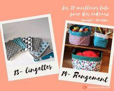 les 20 meilleurs tuto de couture pour faire ses cadeaux soi-même en 2019 Dyi Couture, Homemade Christmas, Diy Crochet, Diy Kits, Diy And Crafts, Gifts, Mars, New York, Inspiration