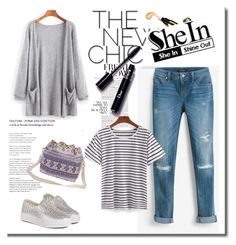 """""""SheIn 5/VI"""" by hedija-okanovic ❤ liked on Polyvore featuring White House Black Market and shein"""