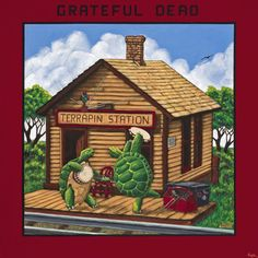 "The Grateful Dead Terrapin Station on 200g LP from Analogue Productions 1977 Major-Label Effort Rife With Rock, Funk, Soul, and DIsco Flavors Includes Hit Cover of ""Dancin' in the Streets"" Lighting th"