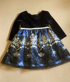 fe14f746247c Emily Rose Toddler 2T Girl Holiday Party Dressy Long Sleeve Sparkly Velvet  Top #EmilyRose #Party. Anaforia · children clothes
