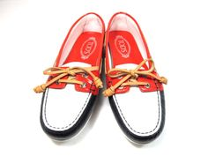 Love a boat shoe flat Tod's leather boat shoes $89.95 COMING SOON FOR SPRING