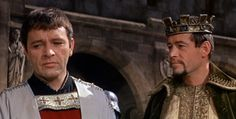 Richard Burton and Peter O'Toole in Becket