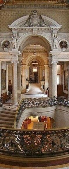 Fashion,Beauty,Landscape,Home Designe,Sexy Girls. Way To Heaven, Foyers, Grand Hotel, Staircases, Front Doors, Luxury Lifestyle, Evening Gowns, Luxury Homes, Abandoned